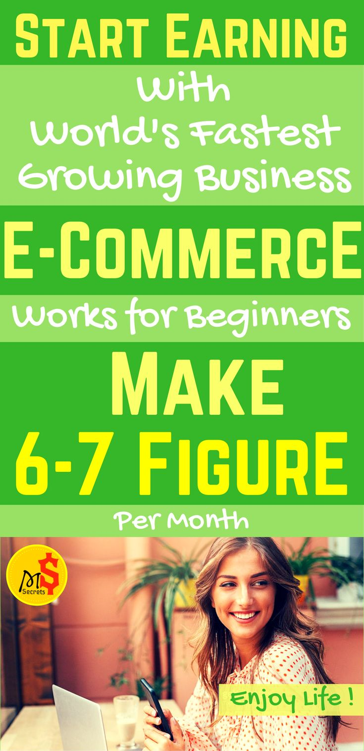 How to make money working from home? Looking for work from home jobs? Online jobs are a great way to earn money online without leaving your home. With dropshipping business (e commerce ) as a home-based side hustles you can start earning passive income now. Make 6-7 figure Per Month with e commerce business. Works for Beginners. Click the pin to see how >>>