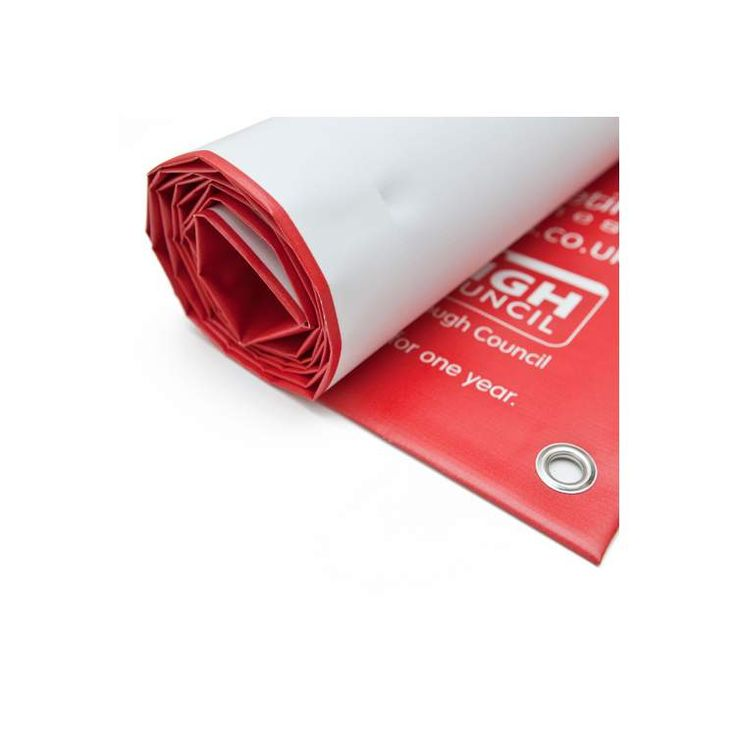Outdoor PVC printed banners with eyelets - bespoke printed in UK