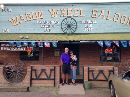 The Wagon Wheel Saloon, Patagonia AZ. The only bar in town!