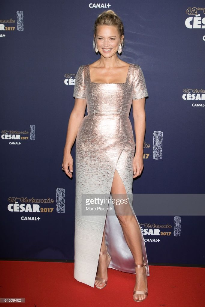 Photo d'actualité : Actress Virginie Efira attends the the Cesar Film...