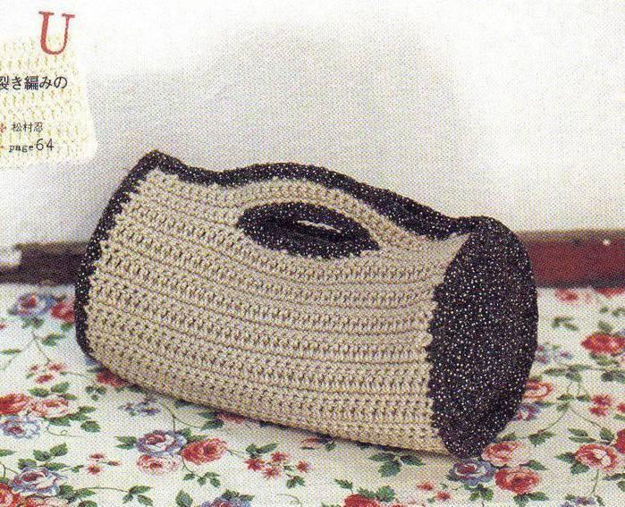 Bolsas tejidas a crochet con patrones ~ Solountip.com
