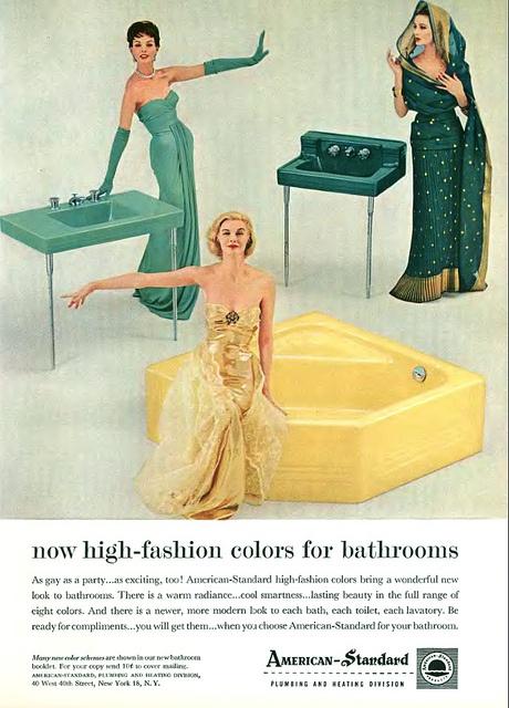 Bathroom Fixtures Colors 40 best vintage american standard images on pinterest | american