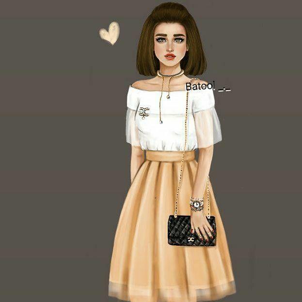 Pin By Syaf Fifah On Girly Art Cartoon Girl Images Cute Girl Wallpaper Girly M
