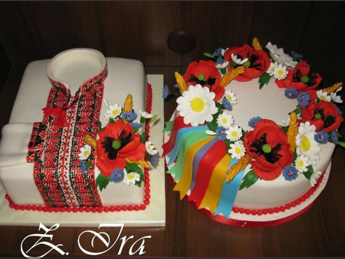 Ukrainian wedding cakes