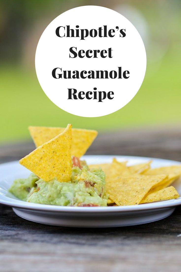 Yummy Chipotle Guacamole Recipe