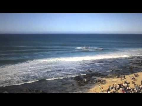 Shark Attack During Surfing Competition Caught on Video - Neatorama