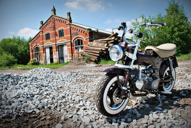 My Honda Dax IV by ~Sen007 on deviantART