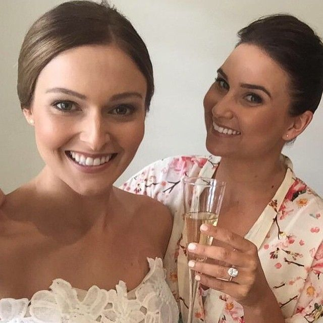 """""""Bit of Blush Bridal! Regram Gorgeous Loz & Co looking effortlessly gorgeous! Looking forward to more pics @lollherd #makeup #bridalmakeup #geelongbride #geelongmakeupartists #skin #glow #gloss #sheer #contour #blushmakeupartistry #blushbridal"""" Photo taken by @blush_bar on Instagram, pinned via the InstaPin iOS App! http://www.instapinapp.com (04/23/2015)"""