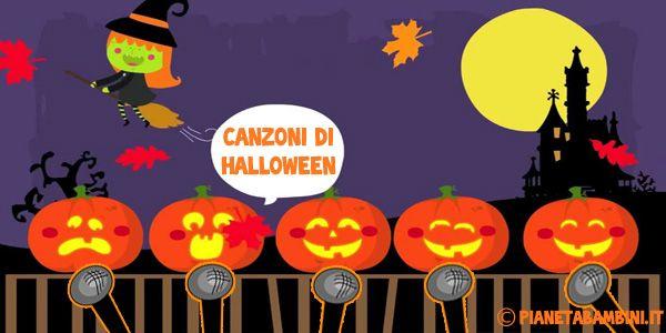 """10 Canzoni di Halloween in Italiano per Bambini   PianetaBambini.it c'è anche la mia """"Mino il fantasmino"""""""