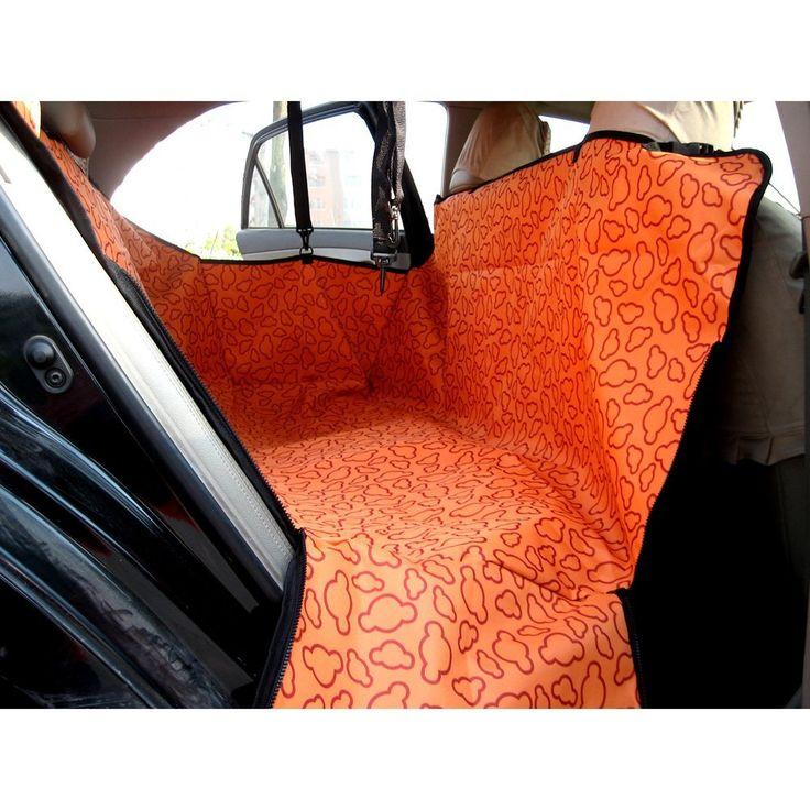 Fuloon Coprisedile Amaca Copertura Coperta Blanket Seat Cover Mat Hammock Sedile Posteriore Automobile per Cane Animali Domestici Pet Viaggio Sicurezza Impermeabile Universale (Arancione): Amazon.it: Elettronica