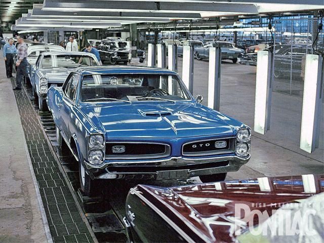 GTOs on assembly line
