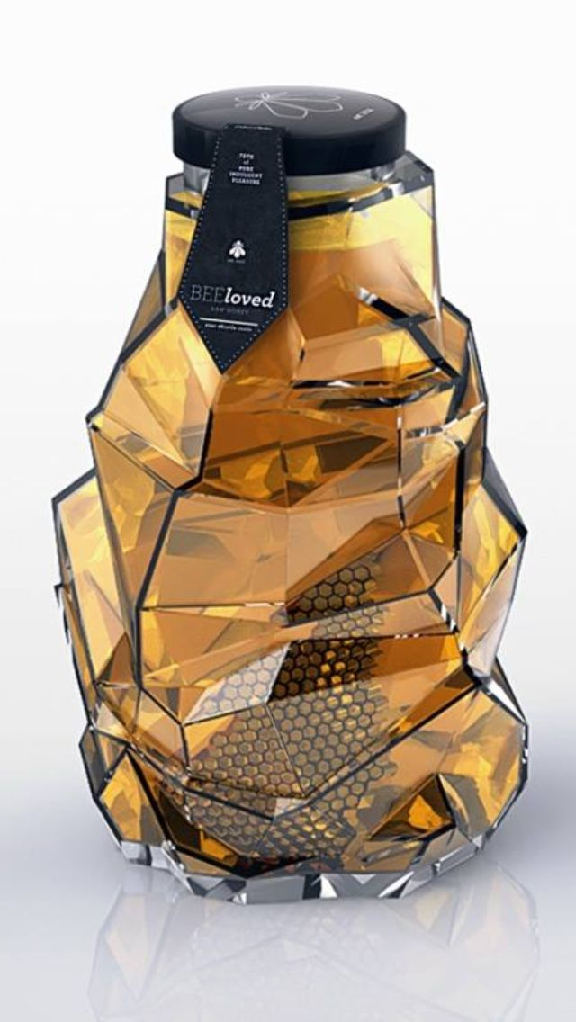 This is the fanciest freaking honey I have ever seen *covet*