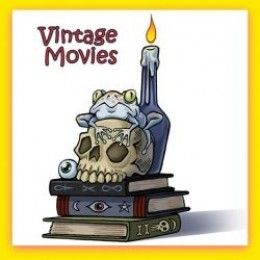 Ten Vintage Halloween Movies Vintage movies; not antique, and not modern.  These are the best to tantalize and thrill, but not scary enough to keep you awake after watching one.  Many,  adapted from books, exercise brain muscles.