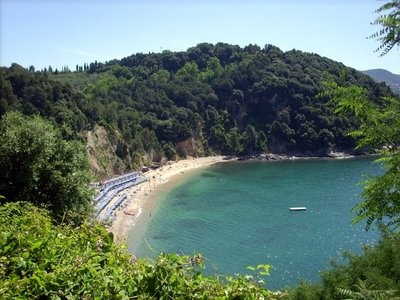 Baia Blu beach in Lerici