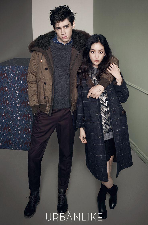 Jeong Ryeo Won and Cole Mohr - Urbanlike Magazine September Issue '14