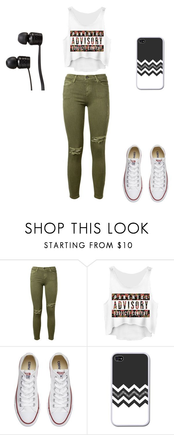 Untitled #3 by beata-apanasewicz on Polyvore featuring Current/Elliott, Converse and Vans