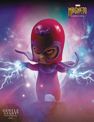 Marvel Animated Style Magneto Statue at TFAW.com