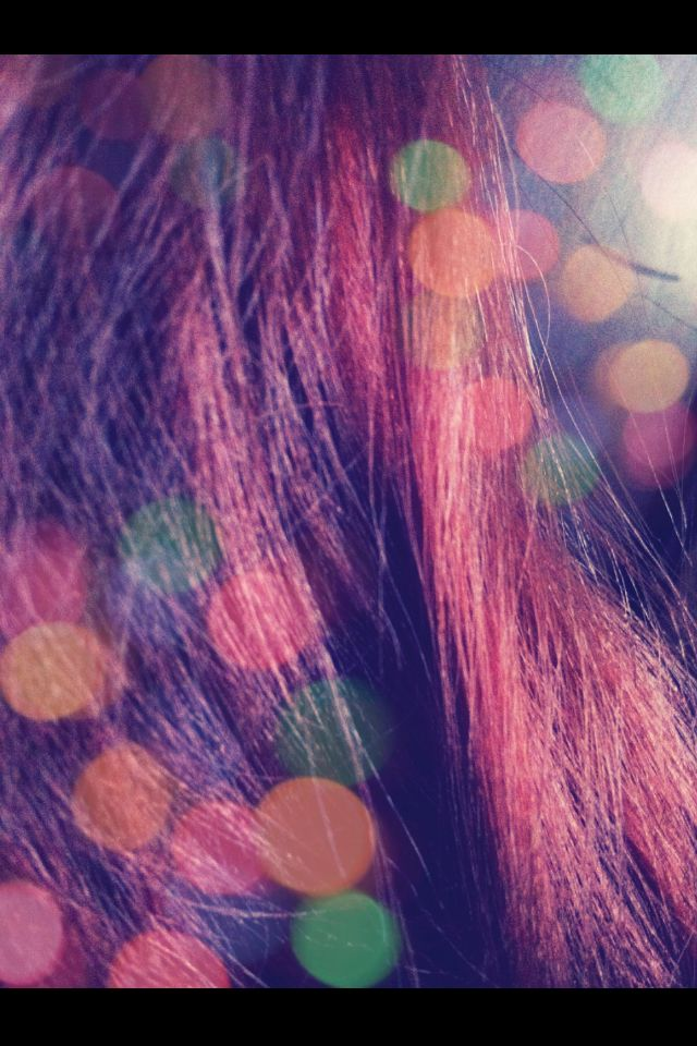 Das Öl schlage auf das Haar