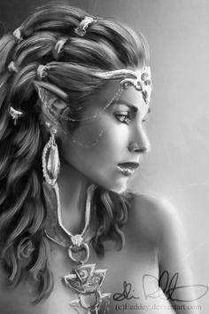 143 best images about Fairy Grayscale