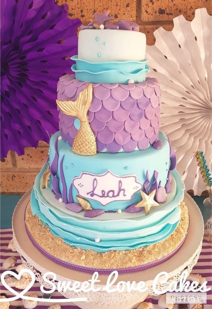 Mermaid cake  #mermaid #girl #birthdaycake