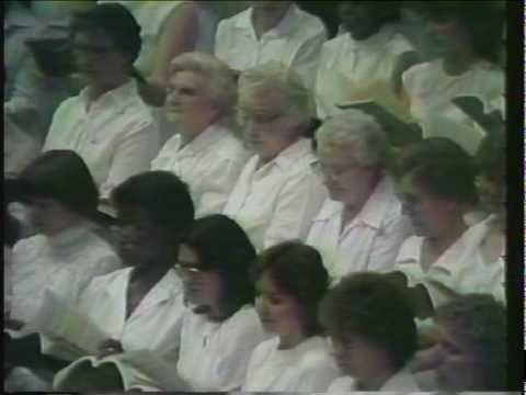 1981 Easter Sunday Messiah-Lindsborg, Kansas intermission feature