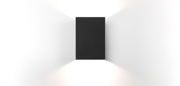 Sulfer is a versatile luminaire that feels at home both indoors and outdoors. It's a minimalist square-shaped fixture and brings a modern accent to walls. By default, Sulfer diffuses a wide beam (flood), yet the fixture comes optionally with additional beam angle plates (medium and small) to let you customize the beam.