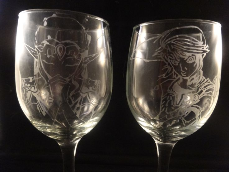 $20 Legend of Zelda Link and Princess Zelda Acid Etched Glass set or Champagne Flute Set or Pint Glass Set Dishwasher safe by DarkUnicornsFunStuff on Etsy https://www.etsy.com/listing/254851758/legend-of-zelda-link-and-princess-zelda