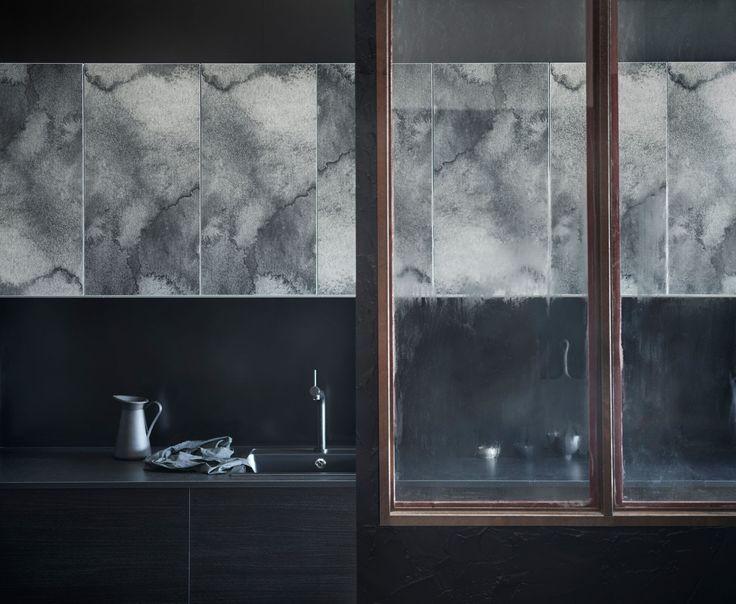 Kjøkkenfronter med fint mønster