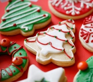 Christmas biscuits.....delicious!!!