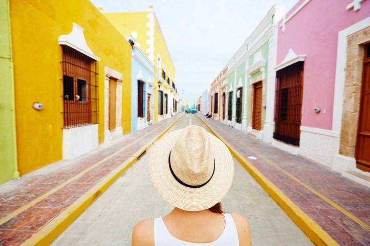 Campeche-Ville-Colorée-Mexique