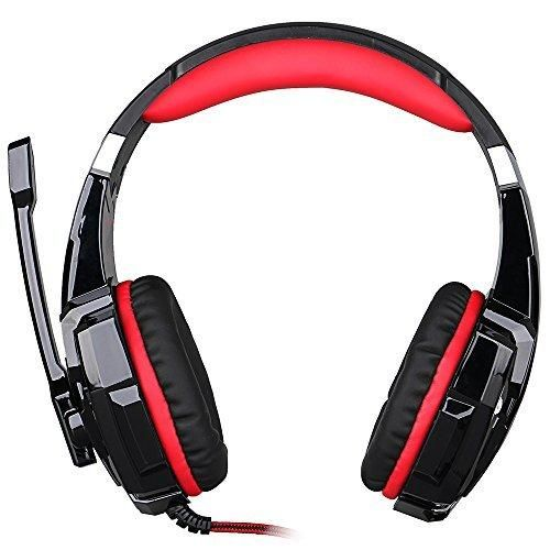 Gaming Headset for PlayStation 4 PS4 Tablet PC iPhone 6/6s/6 plus/5s/5c/5 3.5mm Headphone with Microphone LED Light