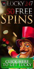 50 Free spins + 100% First debosit bonus.