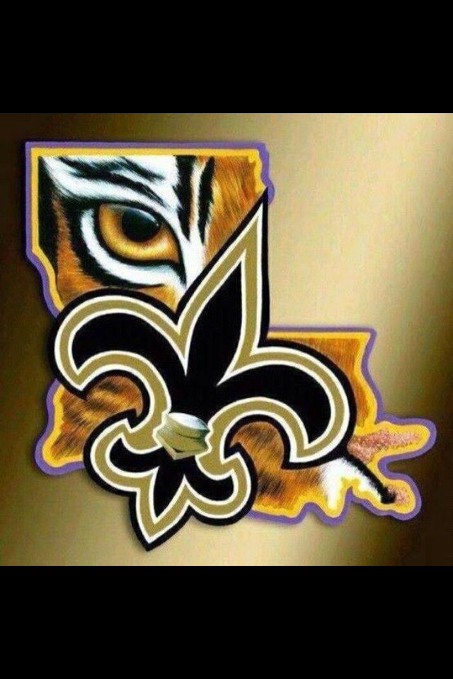 New Orleans Saints And The Lsu Tigers Southern Pride