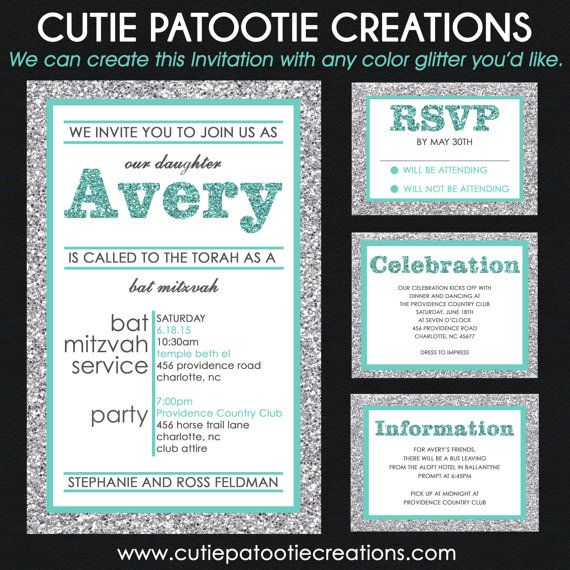 Custom Bar Mitzvah Invitations and Bat Mitzvah Invitation Designs. Choose from our large selection of Modern, Classic, Unique, Formal, Elegant and