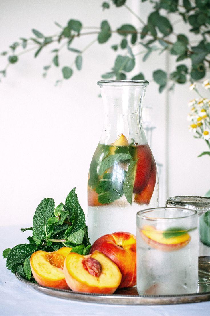 Peach Mint Flavoured Water Gabriel Cabrera   The Artful Desperado