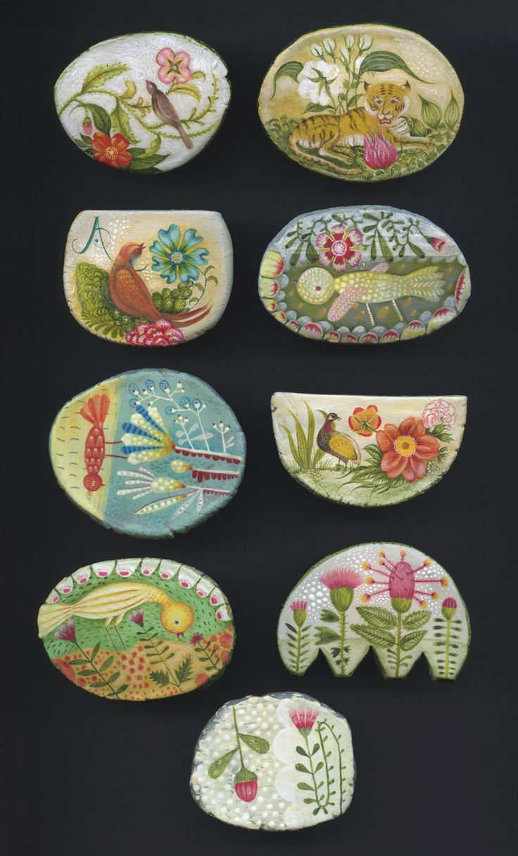 One of a Kind Brooches by Elsa Mora
