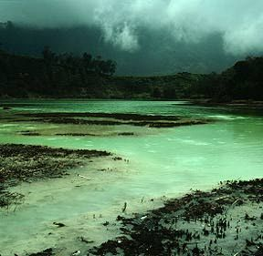 Dieng Volcanic Complex, central Java, Indonesia