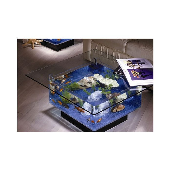 1000+ Ideas About Coffee Table Aquarium On Pinterest