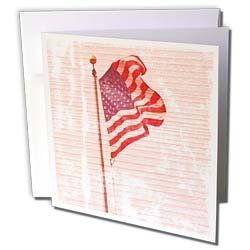 Patricia Sanders Photography - American Flag Wood Design Patriotic 4th of July Americana - Greeting Cards-6 Greeting Cards with envelopes by Patricia Sanders. $10.49. American Flag Wood Design Patriotic 4th of July Americana Greeting Card is measuring 5.5w x 5.5h. Greeting Cards are sold in sets of 6 or 12. Give these fun cards to your friends and family as gift cards, thank you notes, invitations or for any other occasion. Greeting Cards are blank inside and come with white en...