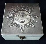 Box with Sun face. https://www.facebook.com/pewterboutique