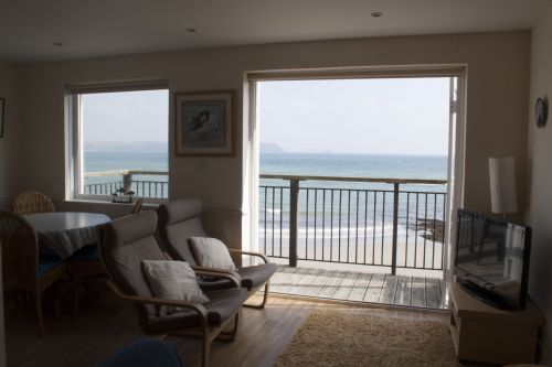 Nice view ♥ home balcony with sea view! Puffin, Portscatho - Roseland & St Mawes cottages