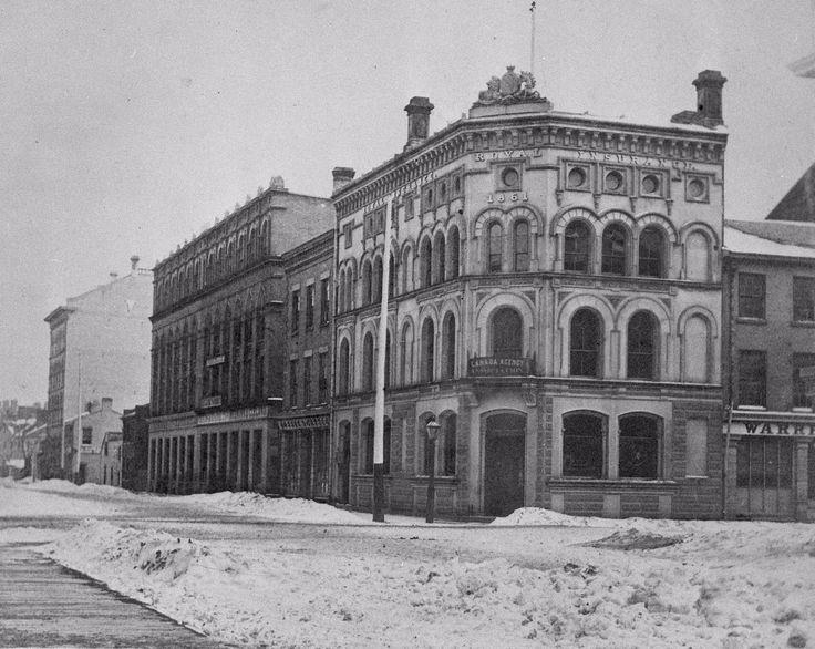 Royal Insurance Company, Wellington St. E., s.e. corner Yonge Street