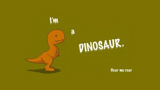 Cute Dinosaur Wallpaper