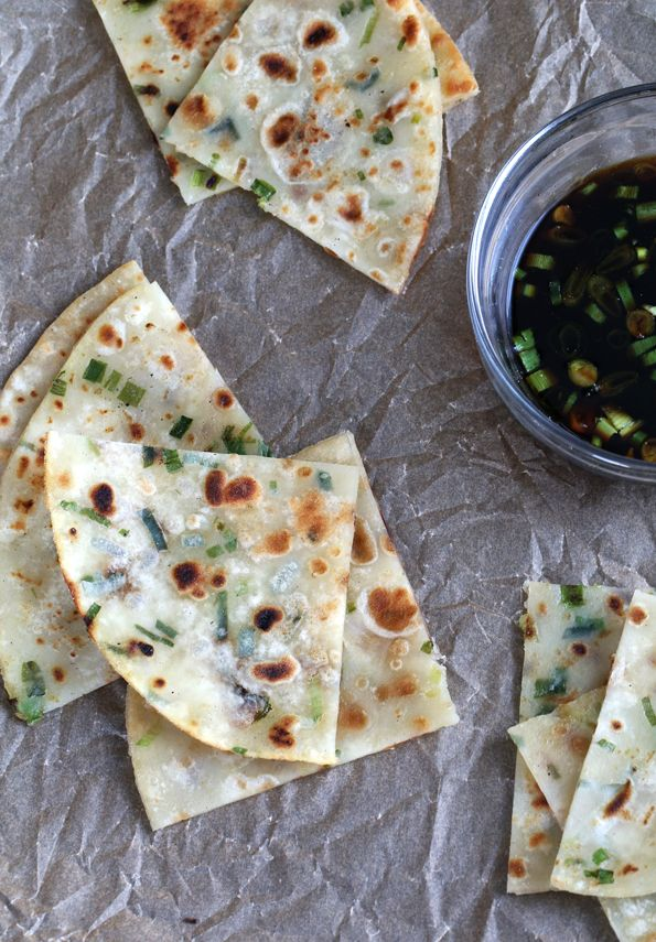Gluten Free Scallion Pancakes - Gluten-Free on a Shoestring
