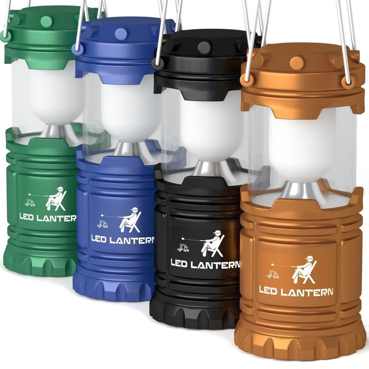LED Camping Lantern Flashlights Camping Equipment - Great for Emergency, Tent Li