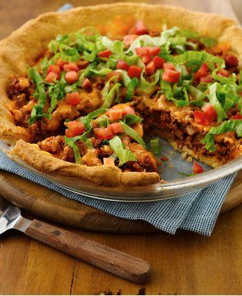 Easy Crescent Taco Bake http://wm13.walmart.com/Cook/Recipes/33913