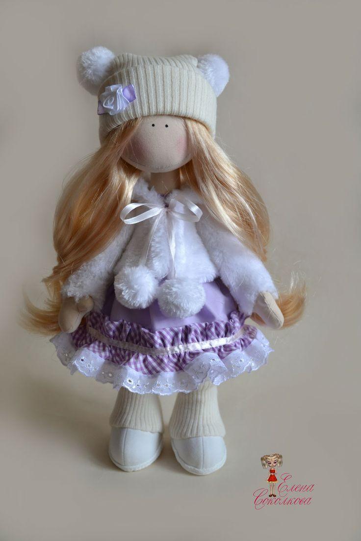 выкройки французской куклы