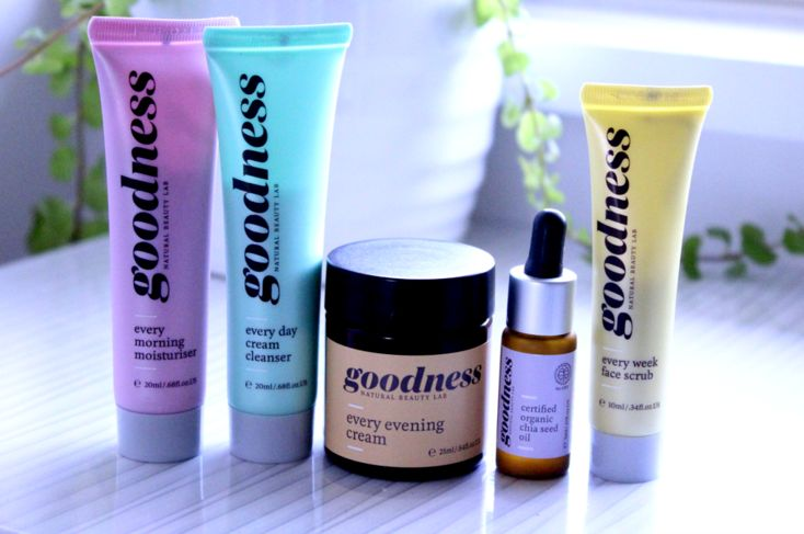 Honest to Goodness - Goodness Product Information+Review blog post.