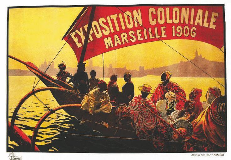 exposition coloniale marseille 1906 illustration de dellepiane colonial exposition. Black Bedroom Furniture Sets. Home Design Ideas