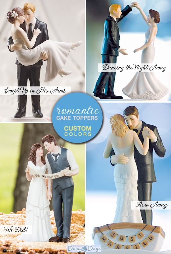 New Wedding Cake Toppers for 2013 from Daisy Days - Brenda's Wedding Blog - stylish real weddings - inspiration boards - unique accents for weddings